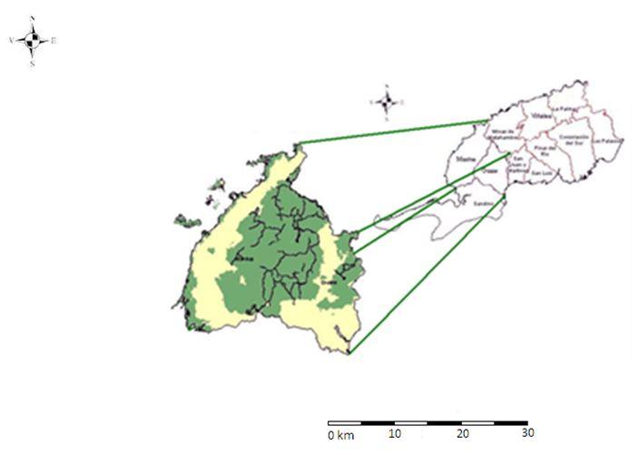 Ubicación geográfica de la EFI Macurije