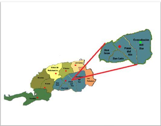 Ubicación geográfica del área de estudio